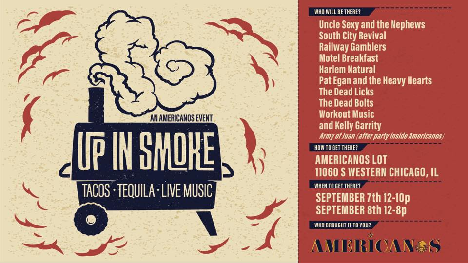Americanos Up in Smoke Festival is Sept. 7 and 8