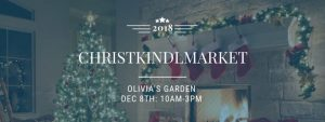 Olivia's Garden Christkindlmarket advertisement
