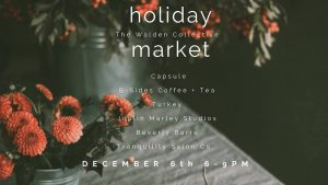 photo advertising Walden Collective Holiday Market