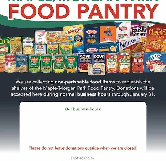 Join MPBHBA Businesses to Help Restock Local Food Pantry after the Holidays