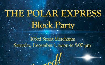Polar Express Block Party is Dec. 1