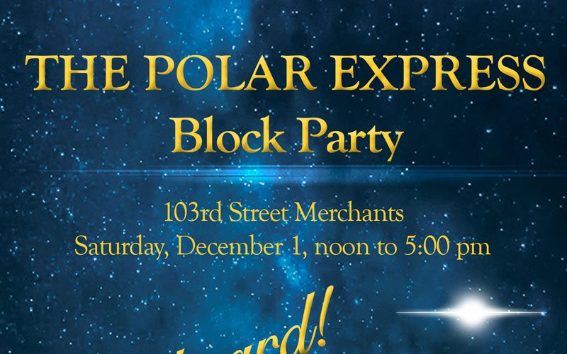 Polar Express Block Party is Dec. 1