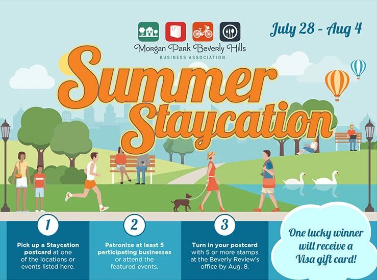 Summer Staycation is July 28–August 4