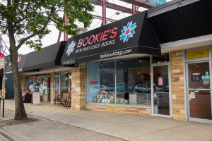 Bookie's storefront
